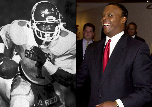 Watts exhibited his charismatic leadership as a quarterback at Oklahoma, leading the Sooners to consecutive Orange Bowl titles. He then served as an Oklahoma representative in Congress for four terms.