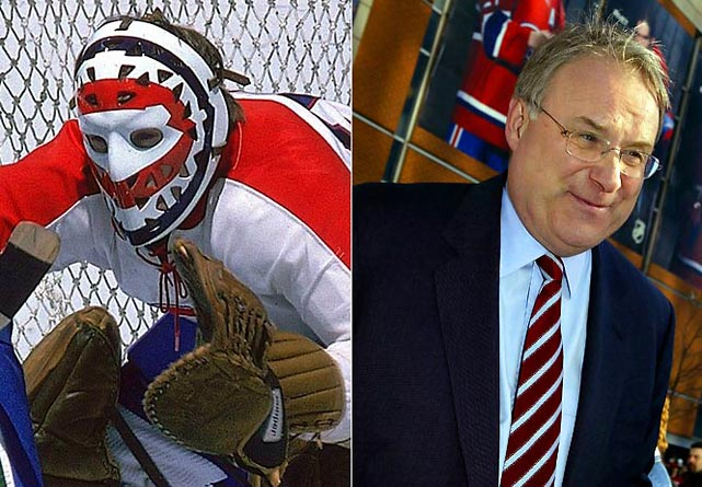 Dryden's motto: The puck stops here. As a Hall of Fame goaltender for the Canadians, Dryden became a national hero by helping Montreal win six Stanley Cups from 1971 through '79. Later, he'd be elected to Parliament and named to Cabinet as Minister of Social Development.