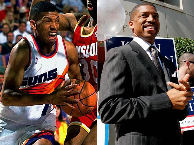 The three-time NBA All-Star added another title to his resume in November 2008, when he won a runoff election to be Sacramento's mayor. K.J. reached the playoffs every season after his rookie campaign, and is the Suns all-time leader in assists.
