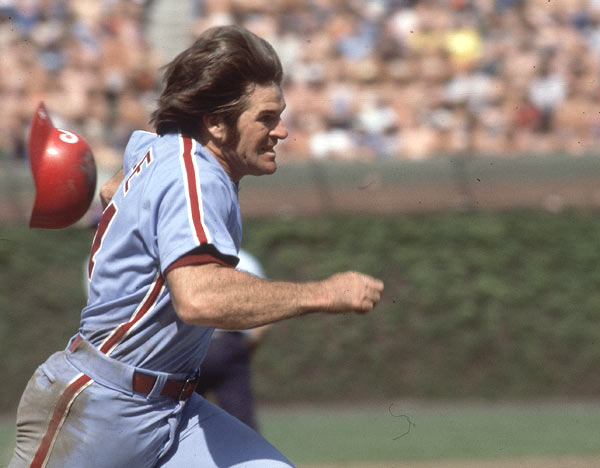 Passing Hank Aaron, Pete Rose becomes the all-time leader in plate appearances when he steps up the plate for the 13,941st time.