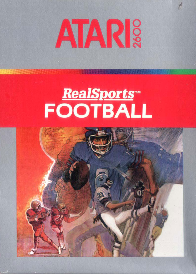A considerable improvement from Atari's debut football effort, teams controlled a quarterback, flanker and three linemen on offense -- or two defensive linemen, two cornerbacks and a linebacker on defense.