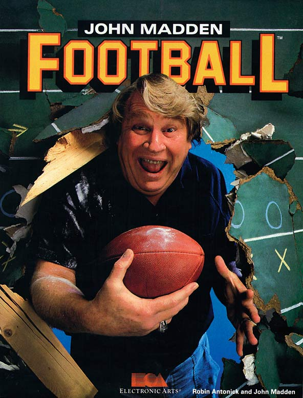 The first installment of the franchise which would forever change sports gaming.