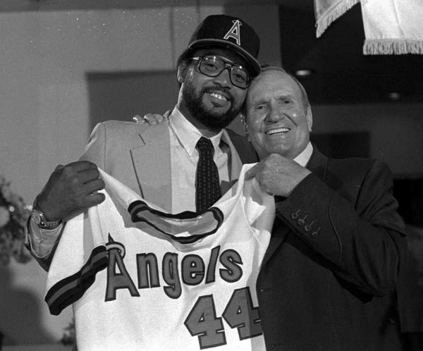 Free agent Reggie Jackson signs a four-year, nearly $4 million contract with the Angels, ending his five-year tenure with the Yankees. During Jackson's tenure in New York, the Bronx Bombers appeared in the postseason four times, winning the World Series in 1977 and 1978.