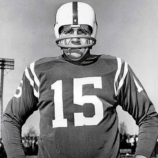 Morrall was a stud in 1968, earning MVP honors in relief of the injured Johnny Unitas, while leading the NFL's No. 2 scoring offense. He pulled up lame in the Super Bowl with bad passes and bad decisions that ruined what should have a coronation for Baltimore: before the 2007 Patriots, the 1968 Colts were the single most dominant team of the Super Bowl Era. Jets QB Joe Namath gets all the acclaim for guaranteeing victory over the mighty Colts. But the Jets defense deserves great credit for humiliating Morrall and the Baltimore offense in the 16-7 win.