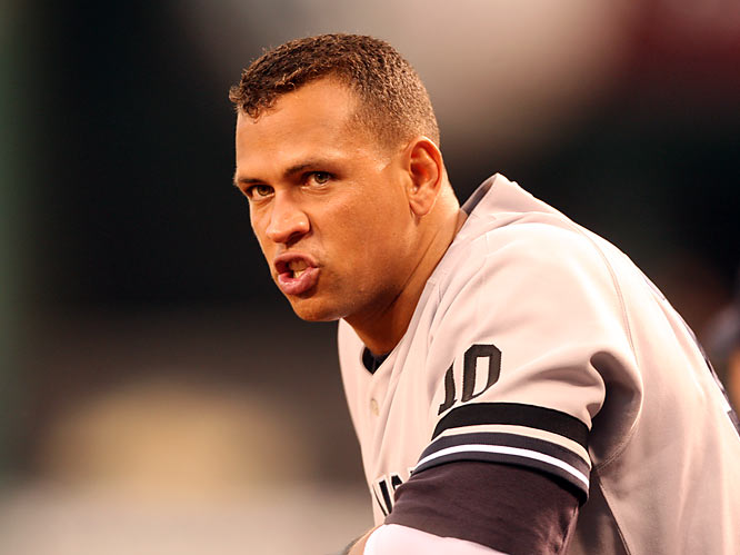 Rodriguez got off to a torrid start in 2007, belting six home runs in his first seven games (and 14 in his first 18 contests). For the year, he led the AL in home runs (54), RBIs (156), slugging percentage (.645), OPS (1.067), and picked up 26 of 28 first place votes en route to winning his third MVP Award.