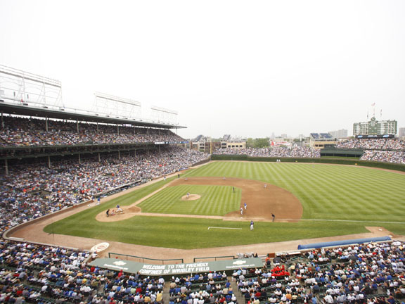 If you aren't concerned about modern conveniences, there is no better place to enjoy baseball than Wrigley.  With its hand-operated scoreboard, and ivy-covered outfield wall, Wrigley screams baseball history.  The seats may be uncomfortable, and the food may be so-so, but Cubs fans--and thousands of tourists--don't care.  Wrigley, the second-oldest stadium in the majors, is always sold out.