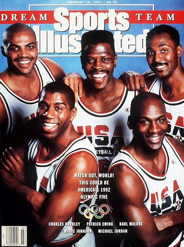 The Dream Team, featuring Jordan, Magic Johnson, Larry Bird and other All-NBA players, won the Olympic gold medal in 1992. Widely considered the greatest sports team ever assembled, the U.S. squad dominated foes nightly by 40 points, traveled like rock stars and dazzled budding NBA fans as a marketing tool to grow the sport globally.