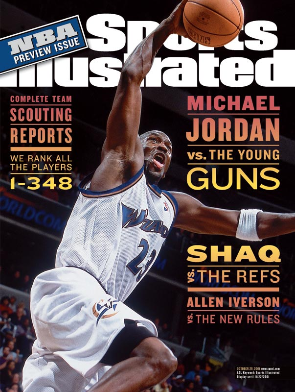 The 38-year-old Jordan ended his second retirement Sept. 25, 2001, signing a two-year contract with the Wizards, who went 19-63 the previous season.
