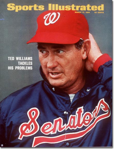 At Washington's RFK Stadium, Ted Williams makes his managerial debut in front of President Nixon and a crowd of 45,000.