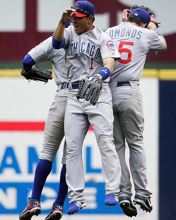 The Cubs become the second franchise in major league history to win 10,000 games when they beat the Rockies in a 10-inning contest at Coors Field 7-6.