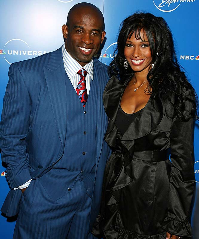 Fans can catch a glimpse of Sanders' personal life in his own reality series Deion and Pilar Sanders: Primetime Love.