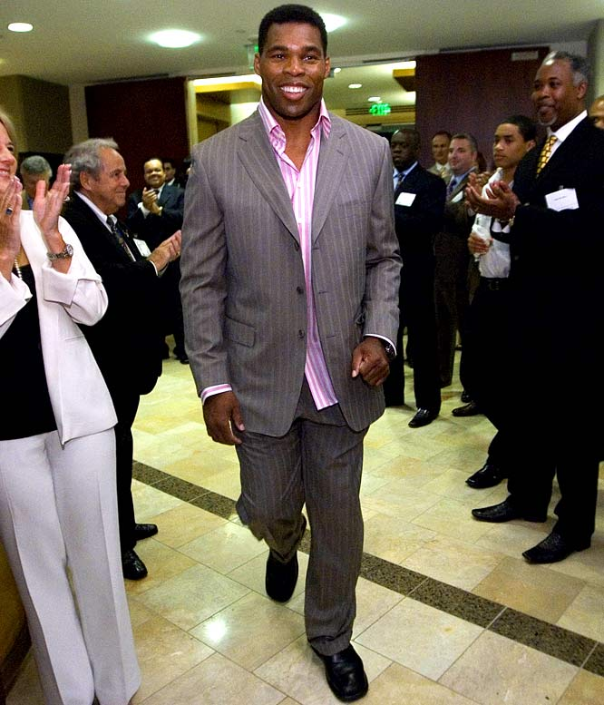 The former Heisman winner wasn't tough enough to avoid the Donald's most famous words on the Celebrity Apprentice: He was fired during an appearance in the 2009 season of the show after failing to sell a new recipe to a frozen food company.