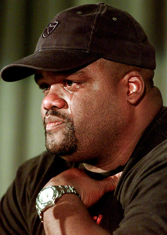 The former world-champion shot putter admitted using steroids as part of the BALCO probe. He has since retired from competition and pointed the finger at ex-wife Marion Jones for also using banned substances.