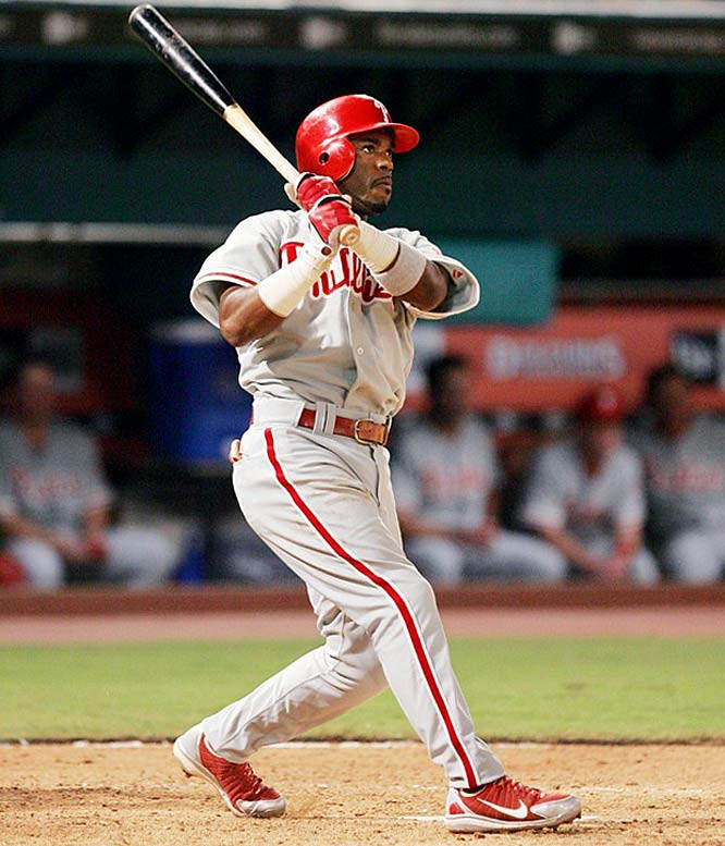 Rollins ended the 2005 season on a tear, hitting safely in 36 consecutive games. He notched a hit in his first two games of the 2006 season to extend the streak to 38, but struggled the rest of the first half, hitting just .259 before the All-Star Break.