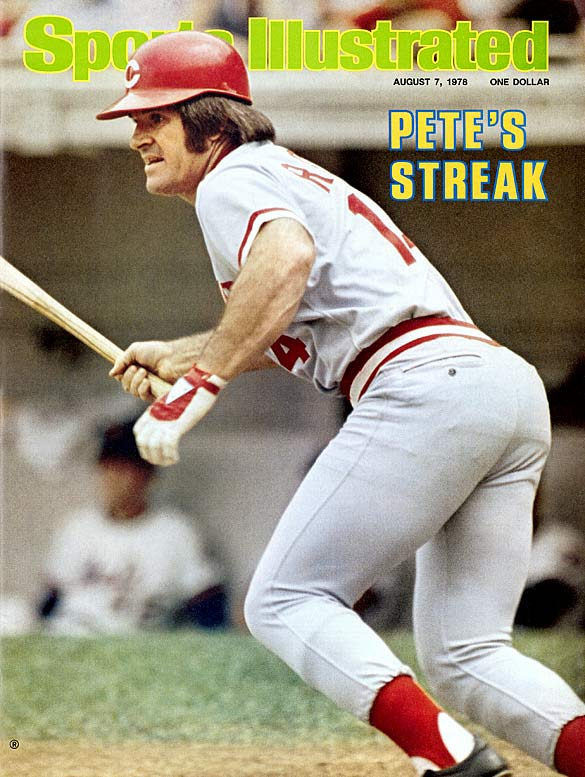 """Out of the 4,256 hits that Pete Rose collected during his major league career, 66 of them came in 44 consecutive games during the 1978 season. After striking out against Gene Garber of the Braves to end the streak, the ever-competitive Rose criticized the pitcher, saying, """"Garber pitched like it was the ninth inning of the seventh game of the World Series."""""""