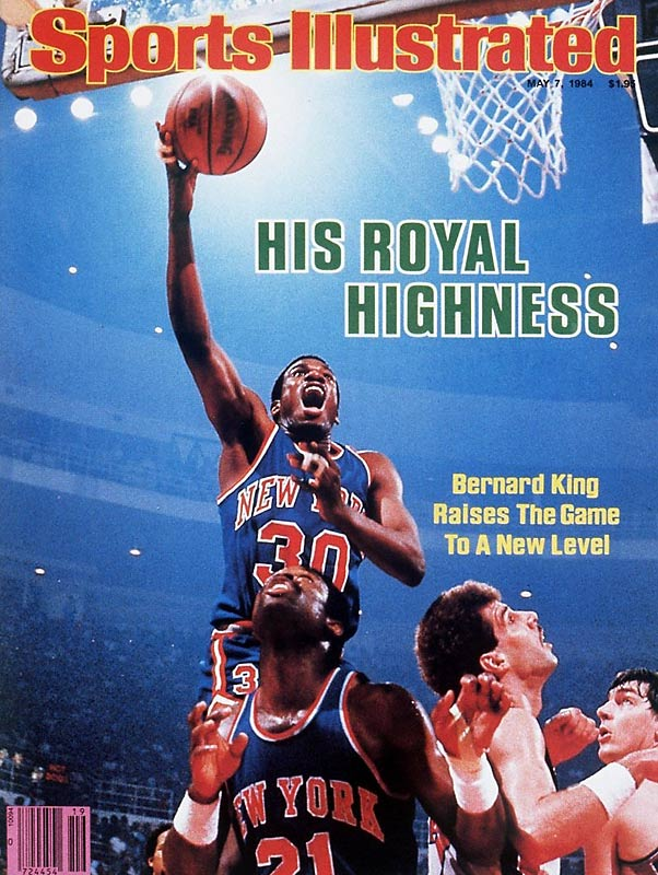 Bernard King single-handedly lifted this series, averaging 42.6 points and breaking Elgin Baylor's 23-year-old scoring record for a five-game series. The matchup also produced a few stirring finishes: The Pistons coughed up a six-point lead in the final 76 seconds of their 94-93 loss in Game 1; and Isiah Thomas scored 16 consecutive points in a 94-second span to force overtime in Game 5 before a flu-ridden King (44 points) came up bigger in the extra period in New York's 127-123 victory at Detroit.
