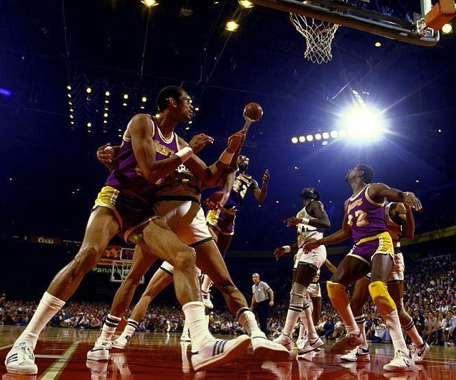 As the Lakers and Nuggets go toe-to-toe in this year's Western Conference finals, SI.com looks back to 1985, when the same franchises battled for a chance to take on Boston in the NBA Finals. Here are some of Sports Illustrated's best shots from that series.