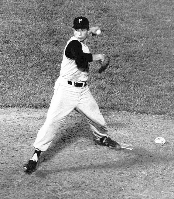 Pirates' hurler Harvey Haddix pitches 12 perfect innings, but loses 1-0 to the Braves in the 13th. The heartbreaking winning run scores on a Don Hoak error, a sacrifice, a walk and a double by Joe Adcock.