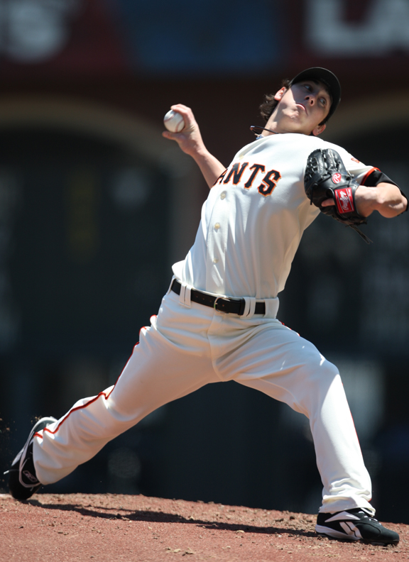 Lincecum ranked third in the majors in ERA with a 2.62 mark during the 2008 season.