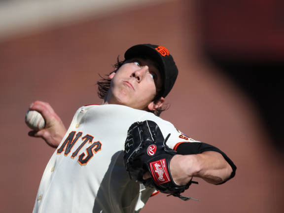 As a pitcher for the University of Washington, Lincecum set a Pac-10 conference record for strikeouts, totaling 491 over his career.