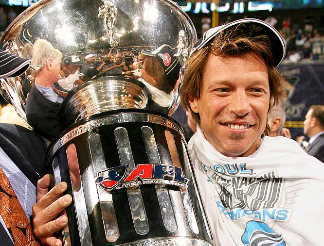 "In 2004, Jon Bon Jovi paid a reported $8 million to cover half of the start-up costs for AFL's Philadelphia Soul.  But life for the Philadelphia Soul has not been filled with ""brotherly-love"" as of late --- Bon Jovi and his partners are being sued by a former Soul sales manager for failing to pay $125,000 in wages and commissions."