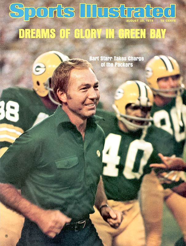 An icon as Packers quarterback, Starr's success did not carry over to the personnel side. Green Bay hired Starr to be its head coach/GM in 1975 and stripped away his GM duties in 1982 after the Pack never had more than eight wins in a season during that stretch.