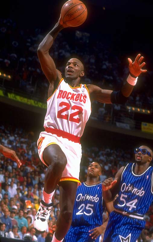 He turned out to be the best player in his draft. He lasted to this spot because his Phi Slamma Jamma years in college created the mistaken impression that he was a one-dimensional dunker, but he turned into a skilled and versatile Hall of Fame scorer who helped his former University of Houston teammate Olajuwon win a championship with the Rockets in 1995.
