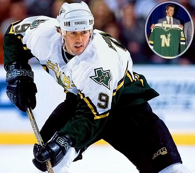 The Hall of Fame awaits the all-time leading scorer among American-born players. A formidable package of speed, skill and size, the seven-time All-Star led the Dallas Stars to the Stanley Cup in 1999 and is expected back in 2009-10 for his 20th NHL season.No. 2: Trevor Linden, RW, CanucksNotables: Jeremy Roenick, C, Blackhawks (8)Rod Brind'Amour, C, Blues (9)Teemu Selanne, RW, Jets (10)