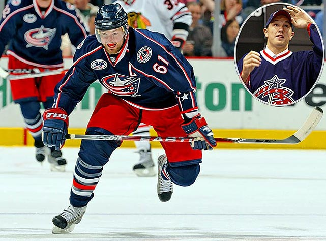 Still only 25, Nash has been slow to deliver on the promise of his league-leading 41-goal season of 2003-04, but his 40-goal, 79-point,  11 campaign of 2008-09 was instrumental in the Blue Jackets reaching the playoffs for the first time in their history.No. 2:  Kari Lehtonen. G, ThrashersNotables: Jay Bouwmeester, D, Panthers (3)Alexander Semin, LW, Capitals (13)Cam Ward, G, Hurricanes (25)