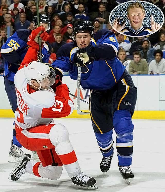 Highly-touted as a cornerstone of the Blues' youth movement, the swift-skating, physical, edgy blueliner had been plagued by injuries and missed all of the 2008-09 season after knee surgery.  Johnson managed to play in 79 games during the 2009-10 season, scoring 10 goals (six on the power play) and 29 assists.  He was also a member of the silver medal-winning U.S. Olympic hockey team in 2010, second youngest on the team at age 21, just eight months older than teammate Patrick Kane. No. 2: Jordan Staal, C, PenguinsNotables: Jonathan Toews, C, Blackhawks (3) Nicklas Backstrom, C, Capitals (4) Phil Kessel, C, Bruins (5)