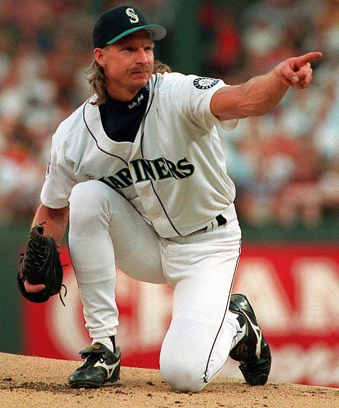 Johnson was traded to Seattle in May 1989 with  pitchers Brian Holman and Gene Harris for Mark Langston. On the advice of Nolan Ryan, RJ tweaked his delivery and saw immediate results, going 5-2 with a 2.65 ERA over his final 11 starts.