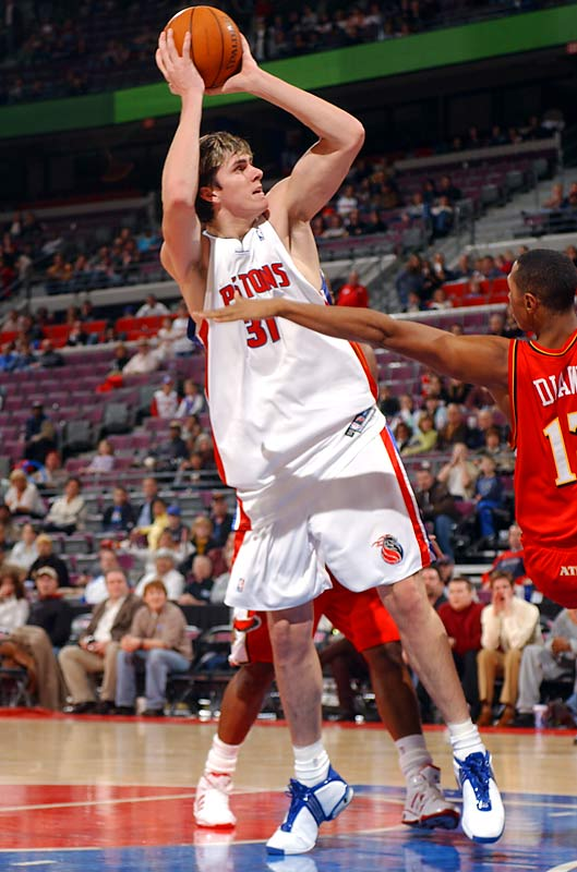 Though he played less than 15 minutes during the entire Pistons championship run, Darko became the youngest NBA champion (18 years, 11 months) during Detroit's 2004 run to the title. The former No. 2 overall pick has bounced around the league since then and was recently acquired by the Knicks in a draft-day trade.