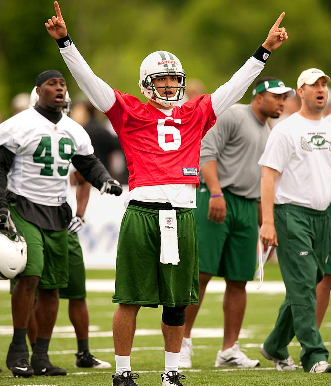 Not since Yao Ming, perhaps, has one player been so important to a league's effort at expanding and entrenching itself into virtually un-mined gold. The Jets rookie quarterback will be following in the footsteps of these other prominent Hispanics in NFL history.