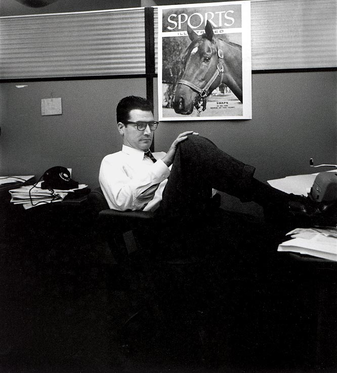 The legendary sportswriter delighted readers of the Los Angeles Times and scores of other papers with his syndicated column from 1961 until his death in 1998, at 78. He was also an SI staffer at one point in his career.