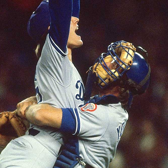 Along with winning the 1981 World Series MVP as a Dodger, Steve Yeager invented the catcher's throat protector after his esophagus was pierced by a broken bat in 1976.