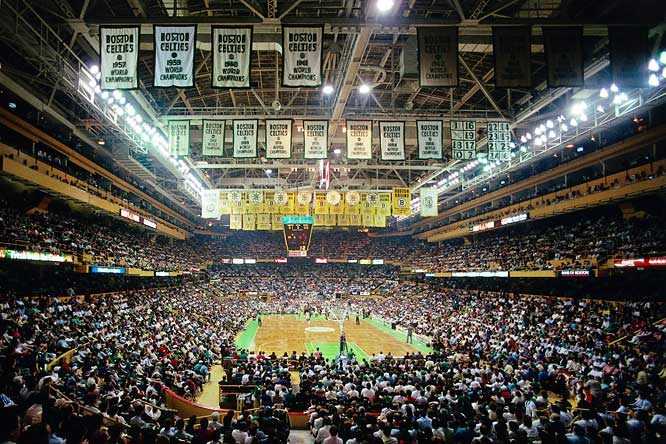 It opened on Nov. 17, 1928, and closed on Sept. 28,1995. In between, the old building saw 16 NBA championship banners raised to the rafters.