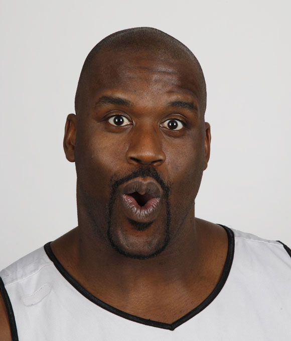 """You never know what funny quote is going to come out of Shaq's mouth. As he once said, """"Like toothpaste and toilet paper...I'm proven to be good."""" The Cleveland Cavs center has nicknames such as The Big Aristotle, Superman, Shaq Fu, and the Big Diesel. At the 2007 NBA All-Star Weekend, he started a break-dancing contest with LeBron James and Dwight Howard. To get a glimpse of his personality check out his TV show, """"Shaq Versus."""""""