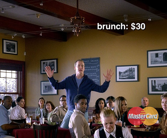 """Manning was considered boring early in his career, but no one thinks now. The Indianaoplis Colts QB has made a number of hilarious commercials the past few years. Ourfavorite: The MasterCard one where he cheers on people at their day jobs, such as yelling to a butcher, """"Cut that meat! Cut that meat!"""""""
