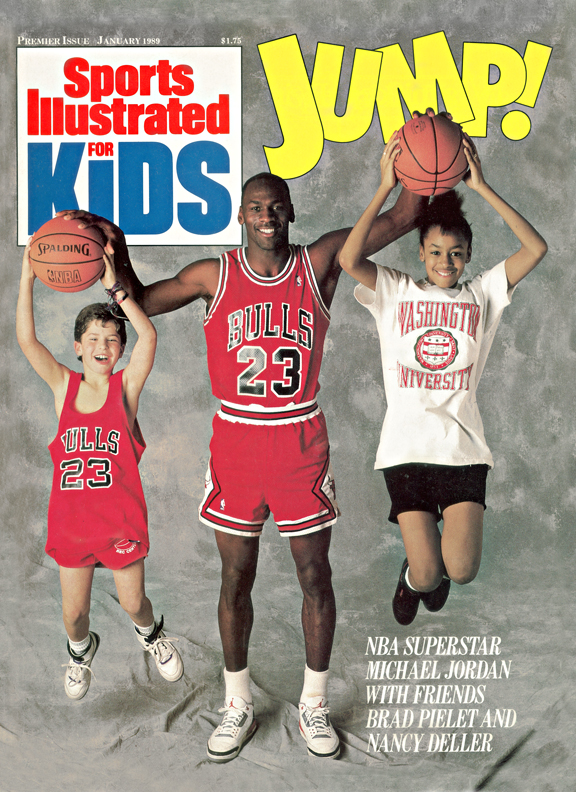 When SI Kids debuted in January 1989, Jordan didn't have a single championship on his résumé. But the 25-year-old was coming off back-to-back scoring titles, making him a natural pick for the first-ever SIK cover. Keep clicking to see some of MJ's most memorable -- and wacky -- photos ever.