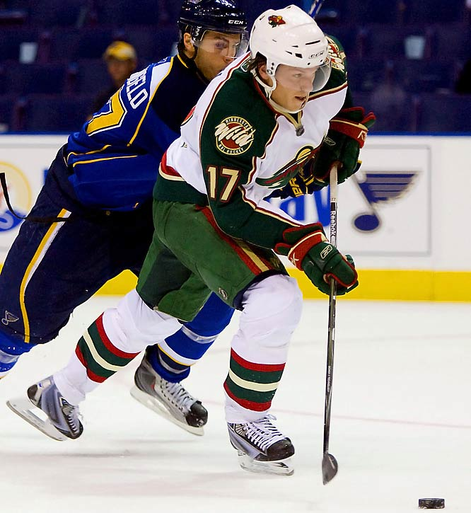 The 25-year-old winger has done everything asked of him in a make-or-break camp. A former Golden Gopher, he brings speed and energy that make him a logical fit for the third line.