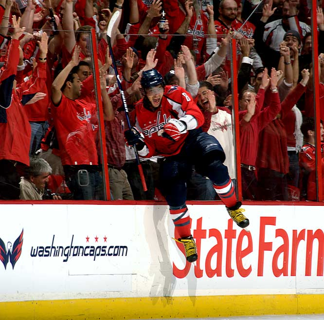 """""""The Great One"""" is sole property of Wayne Gretzky, but Ovechkin's moniker doesn't appear to be pure hyperbole. During his first four NHL seasons, the Washington Capitals sniper has become the game's most dynamic and electrifying goal-scorer, with 50 or more three times, while winning two successive Hart MVP trophies (2008, 2009)."""