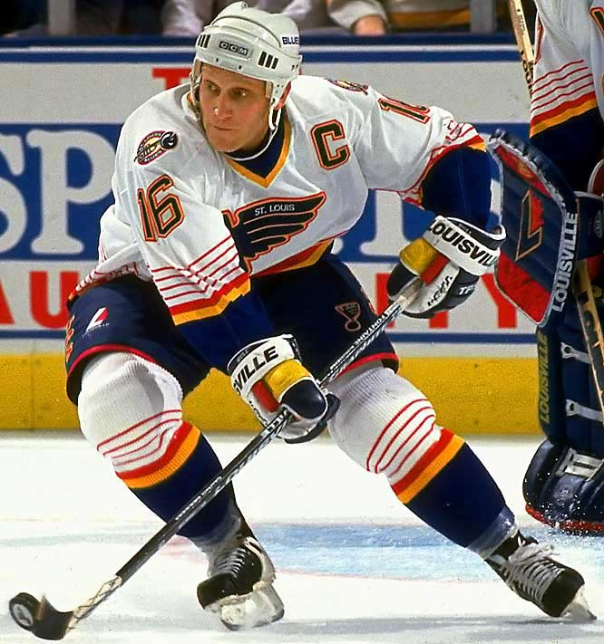 """As a teenager, the son of the Golden Jet was known as """"Pickle"""" for his bulbous frame. Once the slimmed-down Brett became a feared NHL goal-scorer in his own right, the comparisons to his Hall of Fame father resulted in the easily-arrived-at """"Golden Brett."""""""