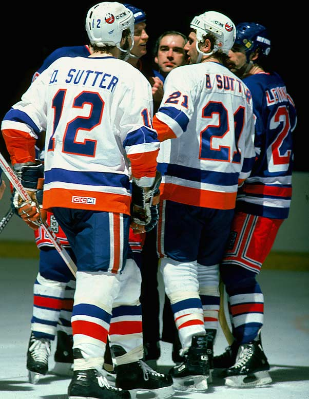 """What else would you call the kid brother of a player nicknamed """"Dog""""? Brent and Duane played together for the Islanders from 1981-87."""