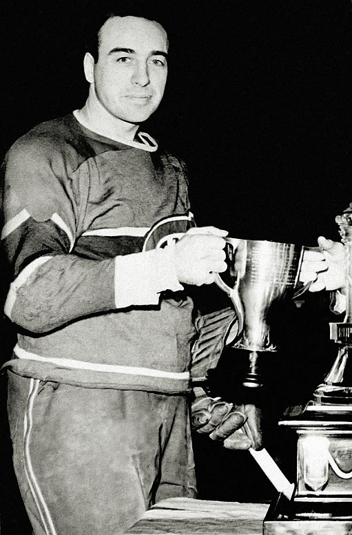 """Nicknamed Toe as a kid because his little sister couldn't pronounce his name (she called him """"Hectoe""""), Blake was first known as """"the Old Lamplighter"""" while skating on the Canadiens' Punch Line with Rocket Richard and Elmer Lach during the 1940s. Toe became the team's coach in 1955 and won eight Stanley Cups, including five in a row, in 13 years behind the bench."""