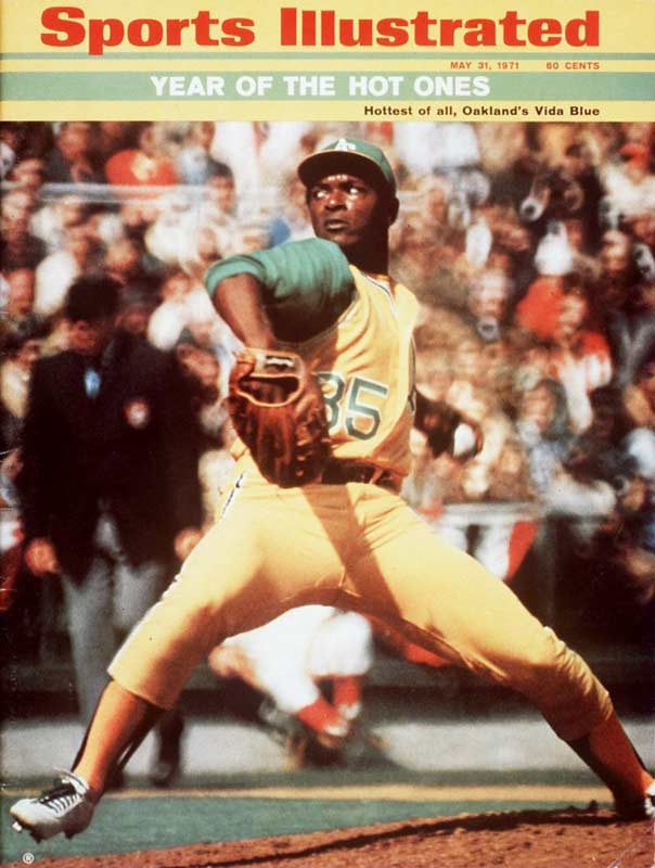 Vida Blue becomes the 11th rookie in baseball history to throw a no-hitter. The A's right-hander, who will become the AL MVP and Cy Young Award winner next season, beats the Twins at Oakland Coliseum, 6-0.