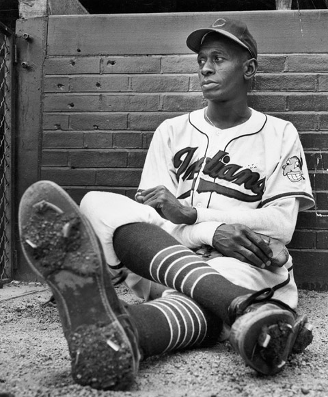 "Leroy ""Satchel"" Paige was a Negro League star who, in 1948 at the age of 41, became the oldest rookie in major league history. ""If he had come up into the majors when he was younger, he probably would have broken all the pitching records. You've heard the stories about him telling the infielders and outfielders to go sit down in the dugout, 'cause he's going to strike out the next three batters? And then goes ahead and does it? I didn't see that, but I heard it from so many guys who played with him that I gotta believe that it's true."""