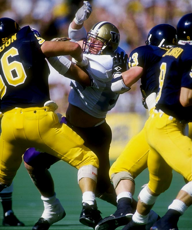 As a junior in 1991, the defensive tackle was named Pac-10 Defensive Player of the Year, was a consensus All-America, won the Outland Trophy and Lombardi Award, but finished fourth in the Heisman balloting to Michigan's Desmond Howard. Another defender, Florida State corner Terrell Buckley, was eighth.
