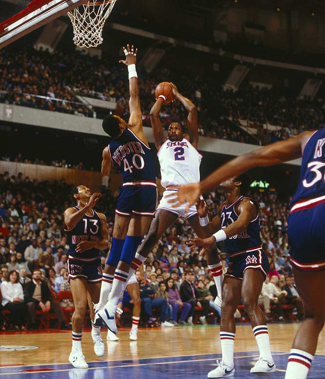 "In 1983, Moses Malone and the ""Fo' Five Fo'"" Sixers swept the Knicks in the first round of the NBA playoffs en route to a then-record 12-1 playoff run."