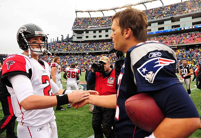 Brady out-dueled second-year starter Matt Ryan of Atlanta during a Week 3 victory.