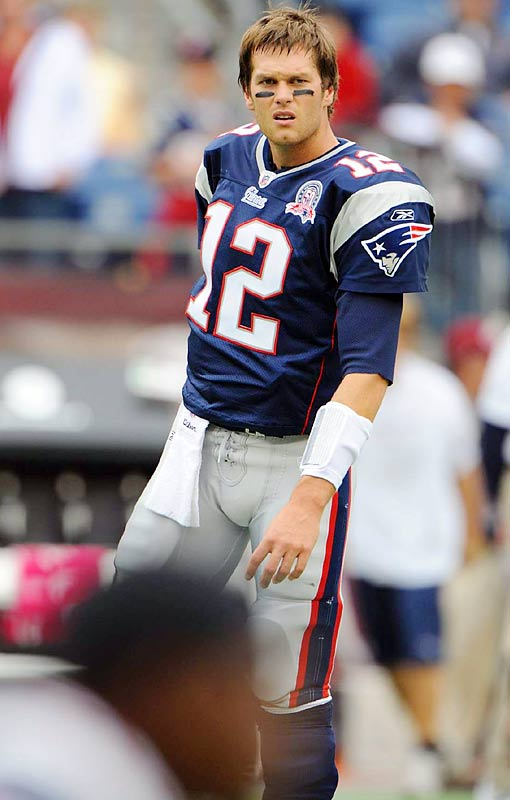 In the four games since he's returned from knee surgery, Brady has thrown four touchdown passes and for 1,129 yards, fourth most passing yards in the league.